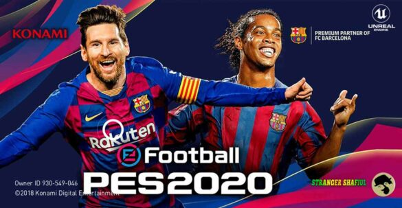 PES 2019 Mobile V3.3.1 MOD PES 2020 Android Offline New Kits 2020 & Transfers Update