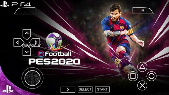 PES 2020 PPSSPP Camera PS4 Android Offline 700MB New Kits 2020 & Transfers Update