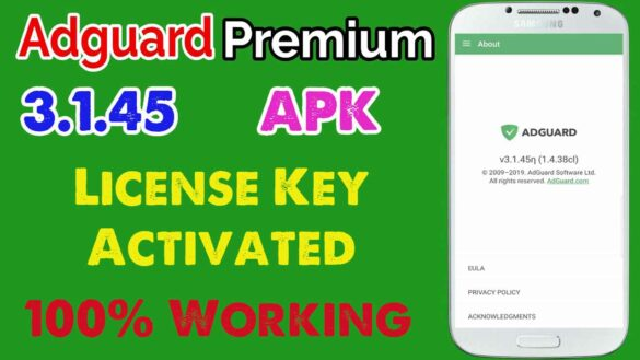Adguard Premium Apk 3.1.45 [Block Ads] License Key Activated - App Android