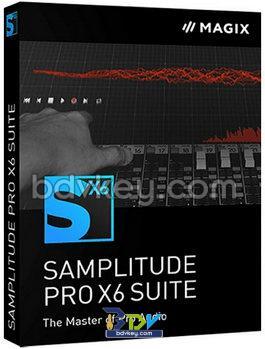 MAGIX Samplitude Pro X6 Suite 17.1.0.21418